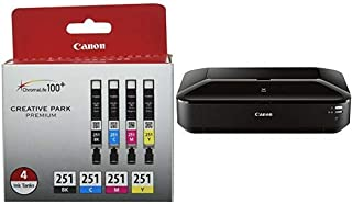 Canon Office Products IX6820 Wireless Inkjet Business Printer with Genuine Canon Ink Value Pack