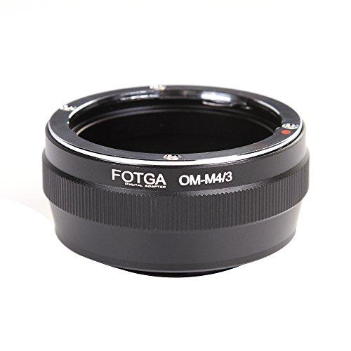 FOTGA - Adaptador de objetivo Olympus OM a Micro 4/3 M43 para EP1 GH2 GH3 GH4 GH5 GH5S GF3 GF7 E-M5 GF5 EPL5