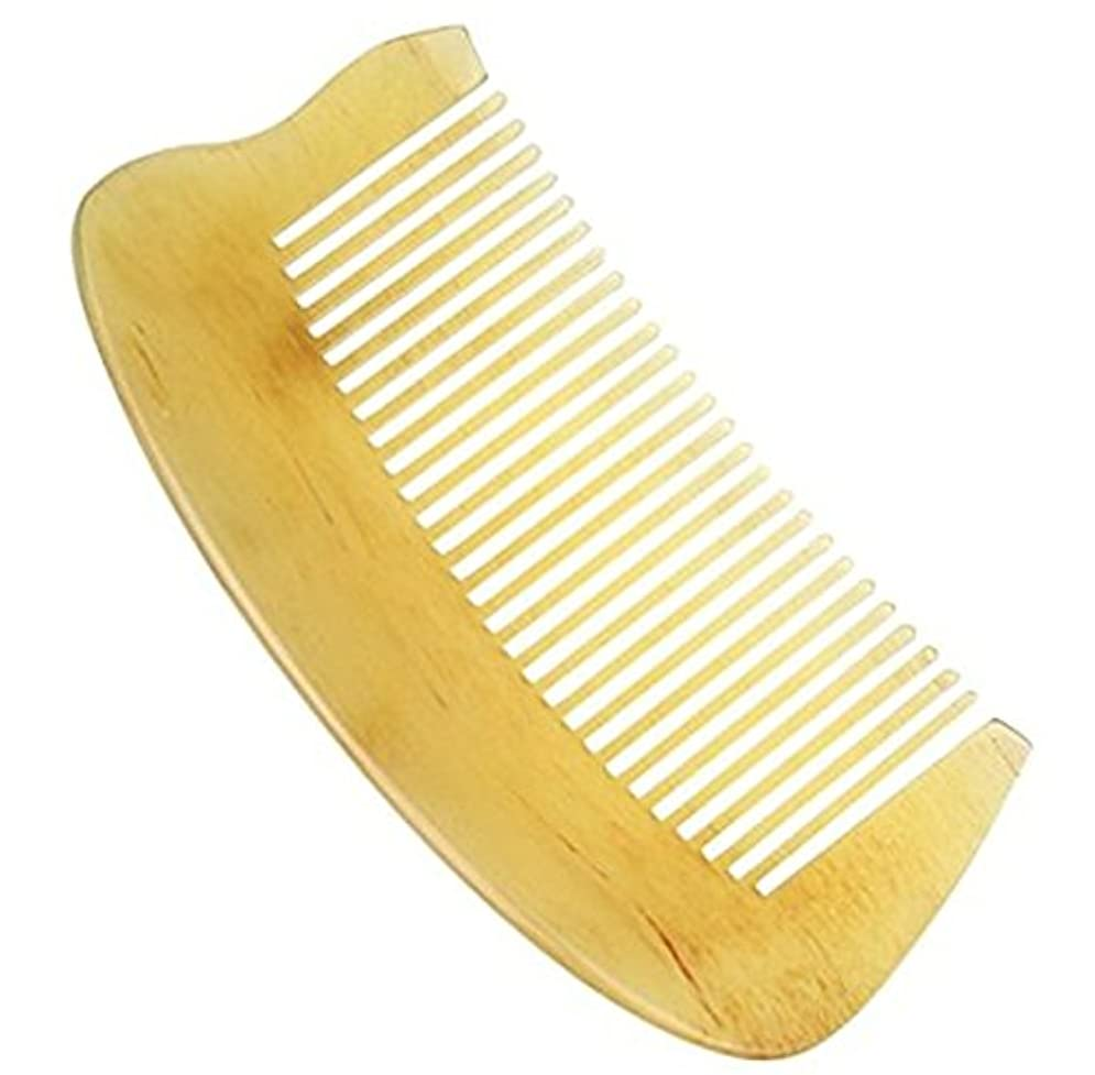 下手先住民むちゃくちゃ櫛型 プロも使う羊角かっさプレート マサージ用 血行改善 高級 天然 静電気 防止 美髪
