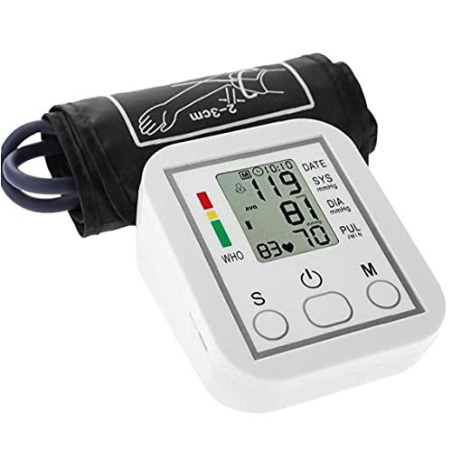 PiniceCore 1set Portable Presión Arterial Monitor Hogar Electrónico Sphygmomanometer Brazo Tipo Meter Digital Tonómetro