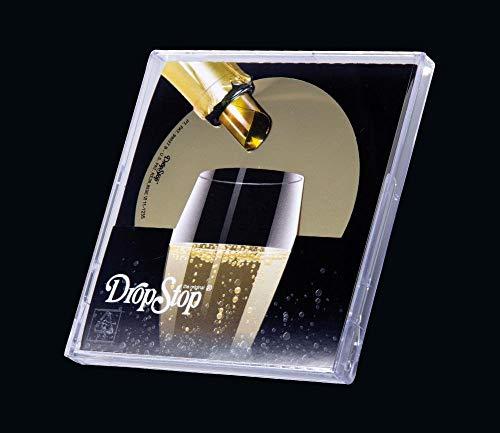 Drop Stop Casette 3 Laminas anti goteo Vertedor Vino, Plástico
