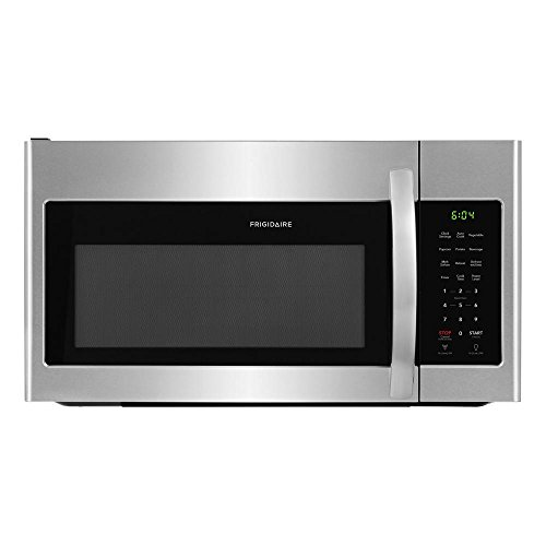 Frigidaire FFMV1745TS 30 Inch Over the Range Microwave Oven with 1.7 cu. ft. Capacity, 1000 Cooking Watts in Stainless…