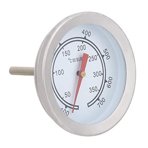 100~700 ℉ RVS BBQ-thermometer Temperatuurmeter Analoge wijzerplaat Dubbele schaal Keuken Koken Voedselthermometer