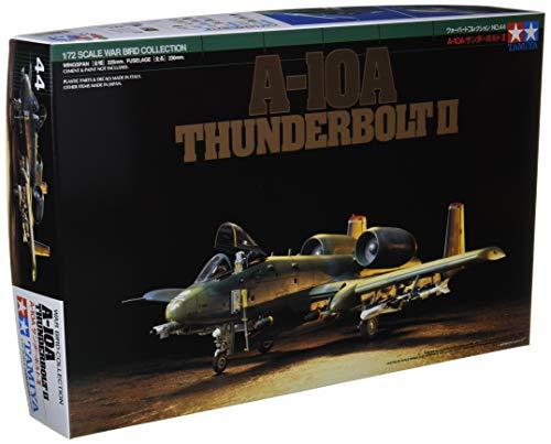 タミヤ 1/72 ウォーバードコレクション No.44 アメリカ空軍 A-10A サンダーボルトII プラモデル 60744
