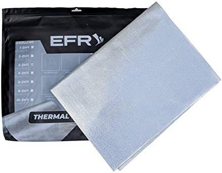 EFR Performance Aluminum Heat Shield Protection Fiberglass and Self Adhesive Backing Heat Barrier product image