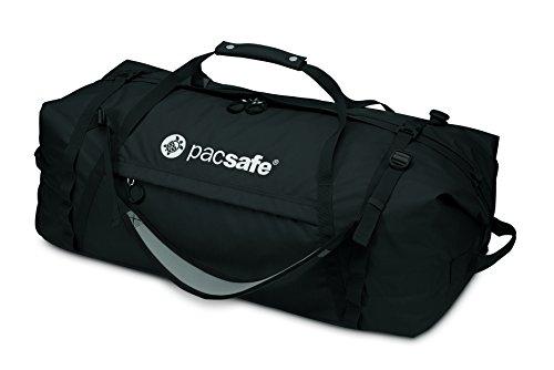 Pacsafe Duffelsafe AT80 Anti-Diebstahl Duffel Bag, Schwarz (Schwarz) - 22110