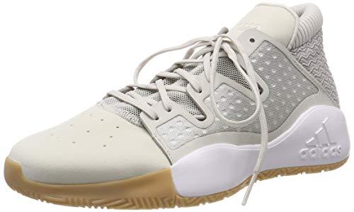 adidas Pro Vision, Zapatos de Baloncesto Hombre, Blanco (Raw White/Light Brown/Gum 3 Raw White/Light Brown/Gum 3), 46 EU 🔥