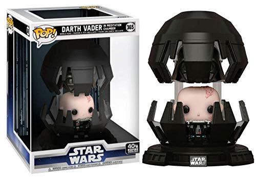 46763 SKN POP! Star Wars: El imperio ataca a Darth Vader en la cámara de meditación-40