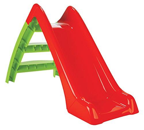 Jamara- Happy Slide Tobogán, Color Rojo/Verde (460265)