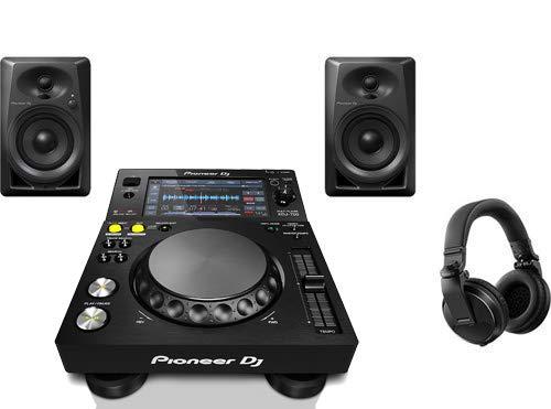 Best Deals! Pioneer Pro DJ Bundle with XDJ-700 + DM-40 Set + HDJ-X5 Headphones