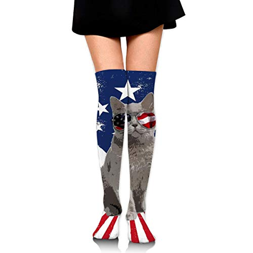 Darn Tough Men/'s Captain America Merino Wool OTC Ultra-light SocksUSA Flag Pr