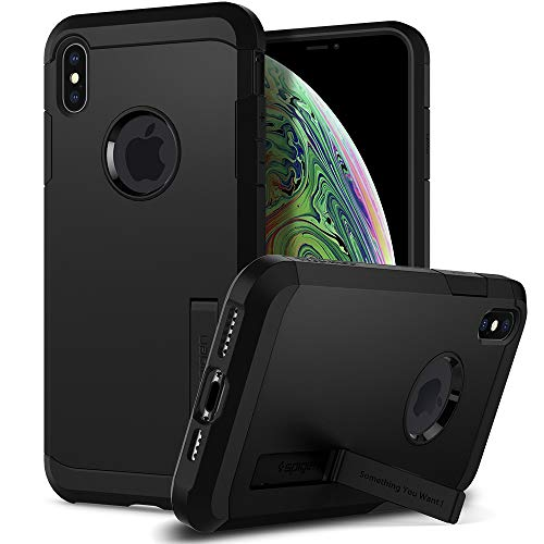Spigen Tough Armor Designed for Apple iPhone Xs MAX Case (2018) - Black