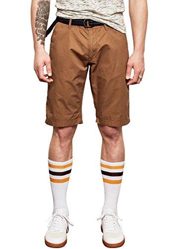 Q/S designed by - s.Oliver Herren 44.899.74.3465 Shorts, Braun (Rubber 8740), Keine Angabe (Herstellergröße: 32)