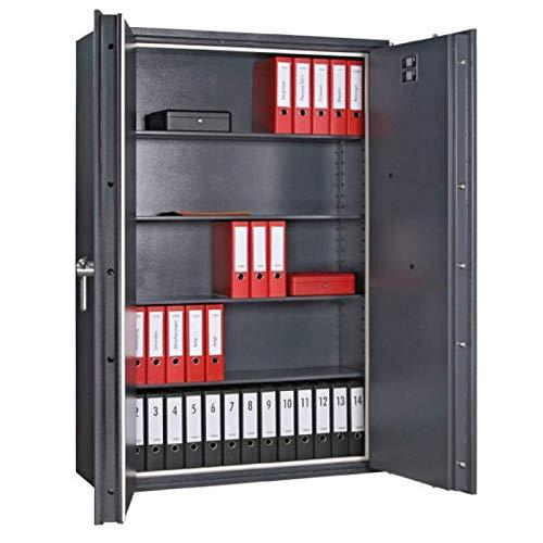 Format Dokumententresor Paper Star Pro 6 (2-türig), Elektronikschloss La Gard Combogard 39 E, Grad 1 nach EN 1143-1, 60 Minuten Brandschutz, H184xB126xT46.9 cm, 880 kg
