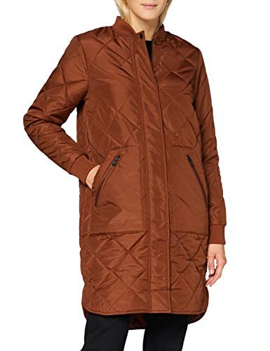 SELECTED FEMME Damen SLFNATALIA Quilted Coat B NOOS Mantel, Smoked Paprika, 40