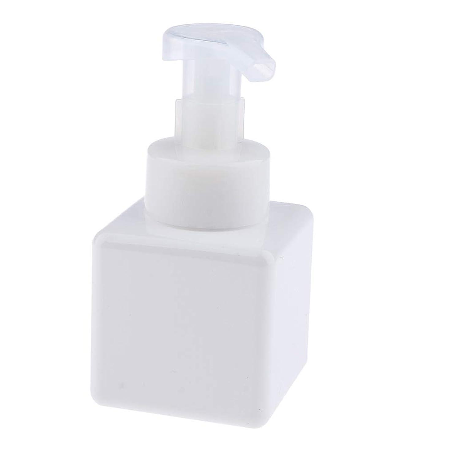 商人試み時計B Blesiya フォームディスペンサー ポンプボトル 250ml 6色選べ - 白