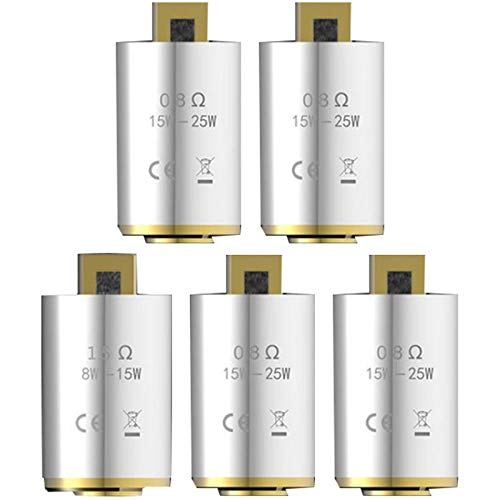 Kangertech Subox Mini V2 Coil Head 0.8ohm Ersatzspulen, 5 pcs/pack, Ohne Nikotin