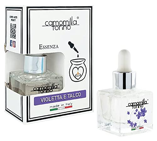 Aceite esencial 20 ml. Cubo 12 fragancias. Italy (violeta y talco)