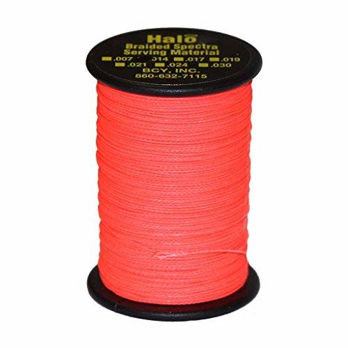 BCY Halo Braid .014 120 Yard Jig Spools Electric Red