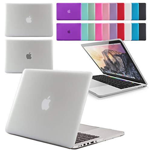 Carcasa rígida de goma GUPi para Apple MacBook Pro 13, 15 y 16 pulgadas. Pantalla Retina y Touch Bar (menú desplegable para seleccionar modelo y tamaño)