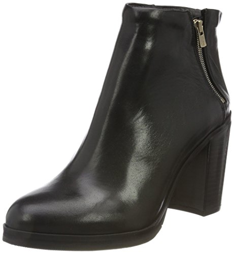 Royal RepubliQ Bridge Zip Boot - Blk, Stivali Arricciati Donna, Nero (Black 01), 37 EU