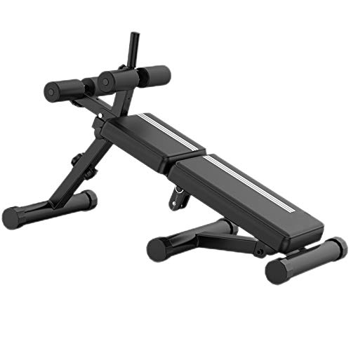 LLY Weight Bench Sit-up Board Abdominal Muscle Board Household Multifunctional Folding Abdominal Board Supine Board Fitness Chair