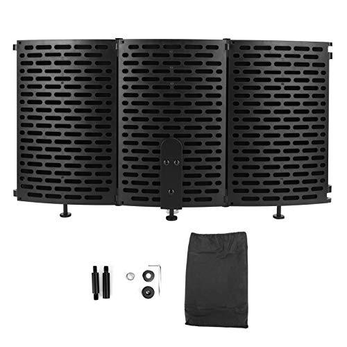 Cubierta a prueba de sonido con placa a prueba de sonido de 3 capas, protector de sonido, para micrófono de transmisión en vivo
