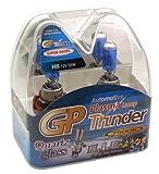 GP Thunder 7500K H8 35W Super-White with Quartz Glass Bulbs for Fog Lights, Cornering Lights, Day Time Running Lights - High - Low Beam SGP75K-H8 Pair - 2 Bulbs