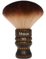 Ritioner Cepillo Barbero Cuello Peluquería Dedicado Pinceles Limpieza Pelo Suave de Nylon Plásticos Manejar