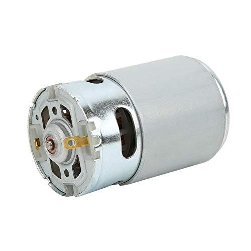 DC 12-24V 22000 Rpm Motor eléctrico Material magnético Mecanizado preciso Fuente de alimentación RS-550 DC Micro Motor para destornillador eléctrico Industrial