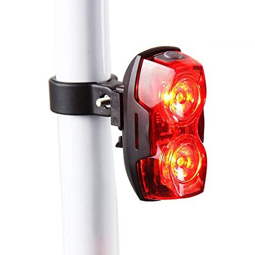 TLF RPL-2230 Neue 1 Watt Super helle 2-LEDs Fahrradrücklicht.