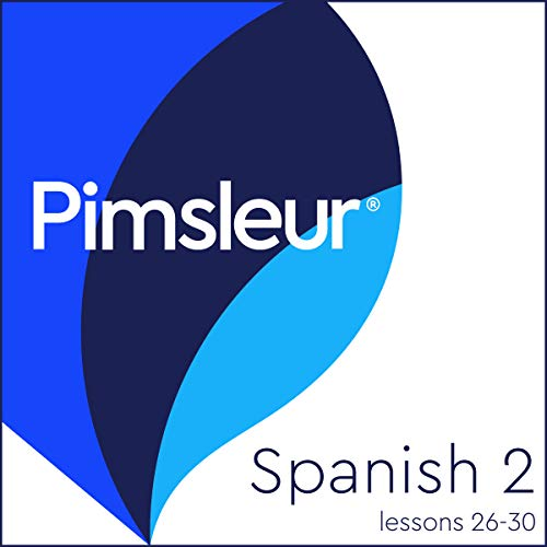 Pimsleur Spanish Level 2 Lessons 26-30     Learn to Speak and Understand Spanish with Pimsleur Language Programs              Written by:                                                                                                                                 Pimsleur                               Narrated by:                                                                                                                                 Pimsleur                      Length: 3 hrs and 24 mins     2 ratings     Overall 4.5