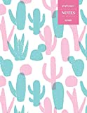 Graph Paper Notes 110 Pages: Cactus Notebook for Professionals and Students, Teachers, Architects, Scientists, Engineers, and Writers   Succulent Llama Pattern