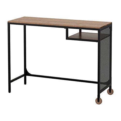 IKEA/イケア FJALLBO:ラップトップテーブル ブラック (103.397.36)の写真