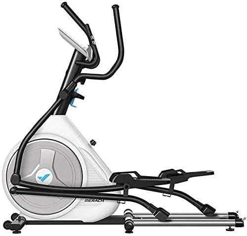 Trainer ellittico ellittico ellittico ellittico domestico per l'allenatore ellittico per l'esercizio aerobico domestico Attrezzatura per il fitness Cardio con monitor LCD e resistenza magnetica