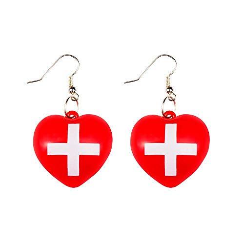 Boland 10116688 Ohrringe Krankenschwester, One Size