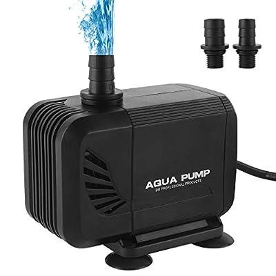 Forever Speed Pompe Submersible pour Aquarium pour Bassin et Bassin