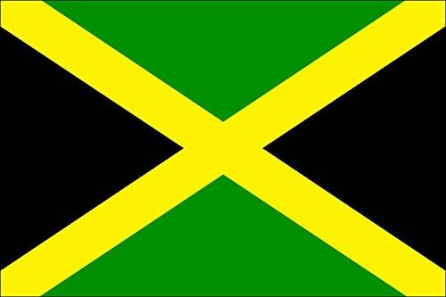 Jamaika Fahne 90 x 150 cm aus hochwertigem Stoff