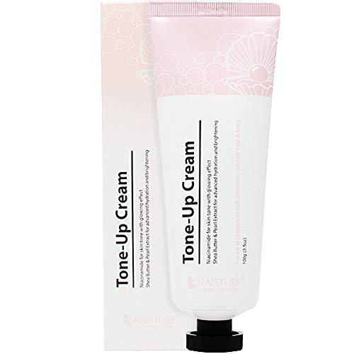 Naisture Tone Up Cream, Niacinamida para el tono de piel con efecto brillante, 100G / 3.5 OZ