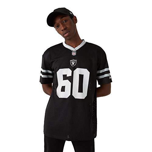 New Era Las Vegas Raiders T Shirt/tee NFL Logo Oversized tee Black - L