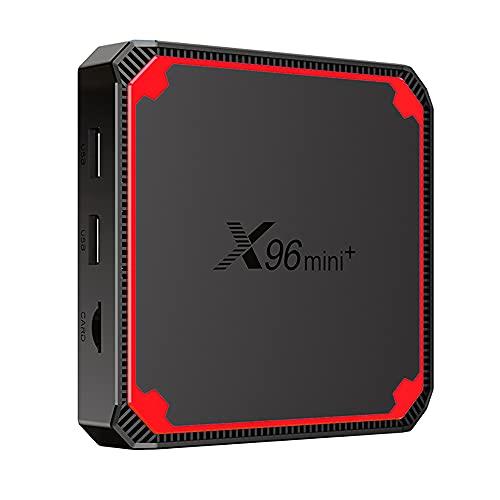 Wivarra X96 Decodificador Android 9.0 S905W4 Quad Core A53 2G + 16G TV Box 4K HD WiFi Medios Caseros Reproductor de Red Enchufe de la UE