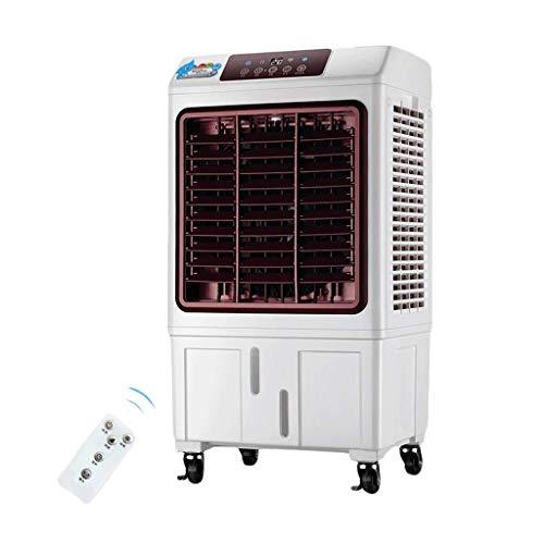 GONGFF Ventilador de Aire Acondicionado Ventilador Doméstico Tipo frío único Que Puede Mover el Control Remoto