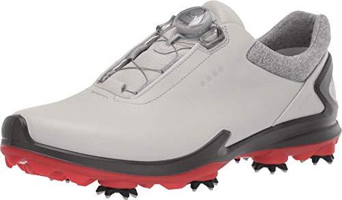 ECCO Golf Biom G3 Concrete BOA Schuh Herren grau/schwarz/rot EU 46