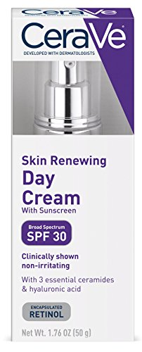 Price comparison product image CeraVe Anti Aging Face Cream with SPF / 1.76 Ounce / Anti Wrinkle Retinol Cream and Face Sunscreen / Fragrance Free