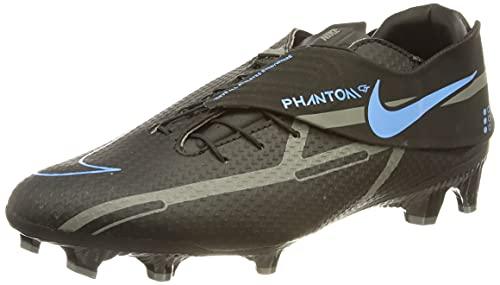 Nike Unisex Phantom GT2 Academy FlyEase Fussballschuh, Black/Black-Iron Grey, 46 EU