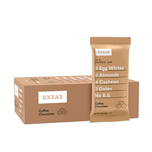 RXBAR, Coffee Chocolate, Protein Bar, 1.83 Ounce (Pack...