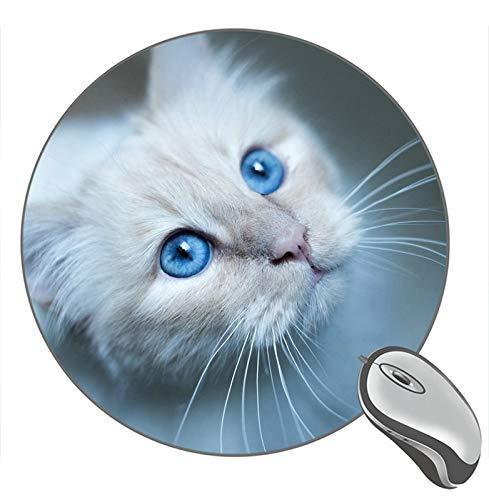 Katze Maulkorb Runde Mauspad Mousepad Geschenk