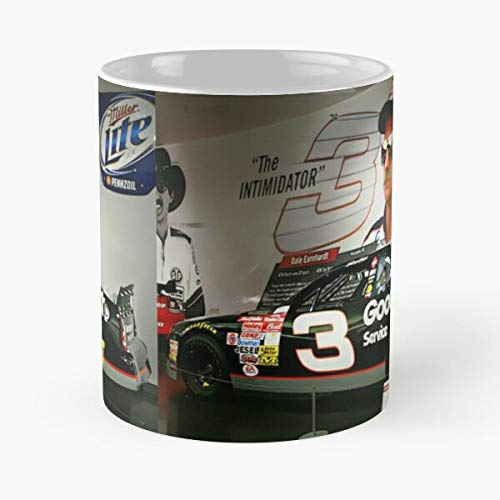 Number Goodwrench Museum Intimidator Nascar 1995 Monte Display Carlo Dale 3 Car The Ernhardt Best 11 Ounce Ceramic Coffee Mug