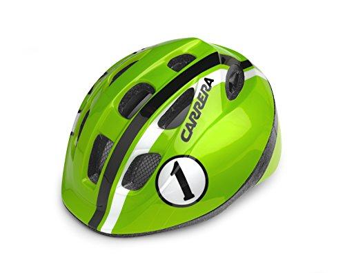 Carrera Pepe Kinder Fahrradhelm Medium Lime Race