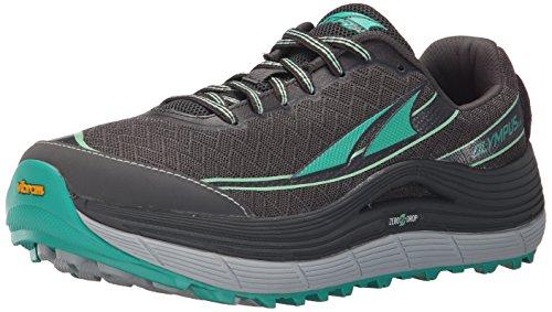 Altra Women's Olympus 2 Trail Running Shoe, Silver/Green, 7 M US